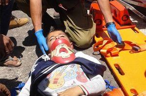 شهرکنشین اسرائیلی کودک فلسطینی را زیر گرفت+عکس