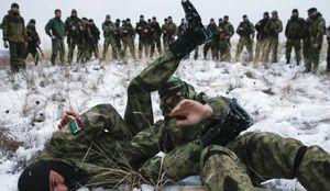 جنگجوی مسلمان چچنی