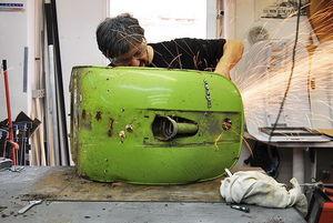 تولید صندلی لاکچری با موتورهای اوراقی