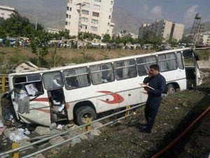 اسامی دانشآموزان مصدوم حادثه واژگونی اتوبوس