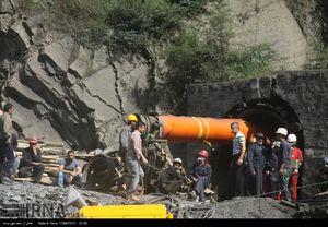 آخرین تصاویر از امدادرسانی به حادثه دیدگان معدن یورت