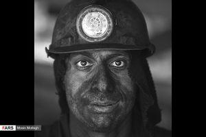 تصاویر پرتره از کارگران معدن یورت