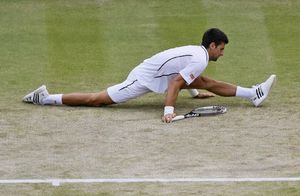 عکس/ 180 زدن ستاره معروف تنیس