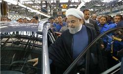 روحانی از نمایشگاه محصولات شرکتهای دانش بنیان بازدید کرد