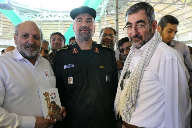 گرامیداشت یاد شهیدان عملیات سیدالشهدا (ع) - یادمان شهید حسین اسکندرلو