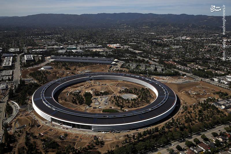 پایان ساخت دفتر جدید شرکت اَپل با هزینه 5 میلیارد دلار در کالیفرنیا