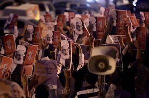 تظاهرات بحرینیها علیه آلخلیفه در «الدراز»