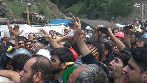 فیلم/ اعتراض دردناک معدنچیان به روحانی