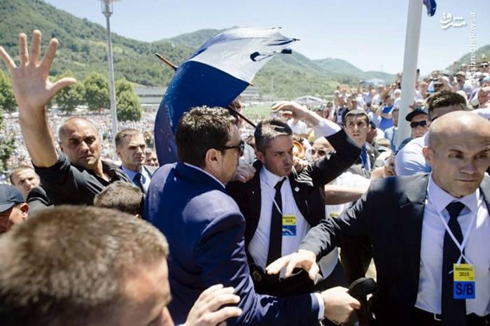 حمله به نخست وزیر صربستان