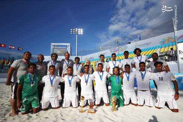 دستکش طلای پیمان حسینی,فوتبال ساحلی ایران