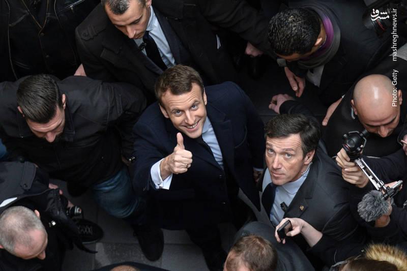 پیروزی مکرون نامزد جوان و میانهرو در انتخابات ریاستجمهوری فرانسه و موفقیت خیرهکننده حزب تازهتأسیس او با نام «پیشرو» در انتخابات مجلس با وجود مشارکت اندک مردم