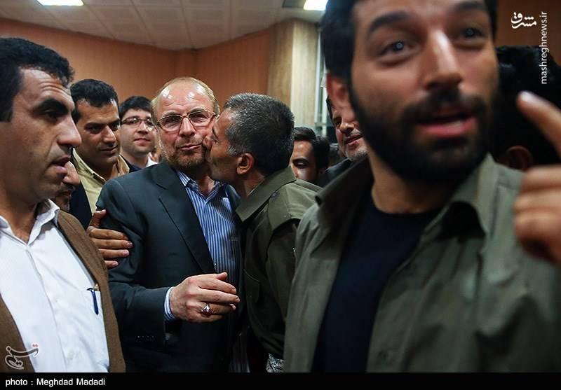 دیدار قالیباف با منتخبین کردستان