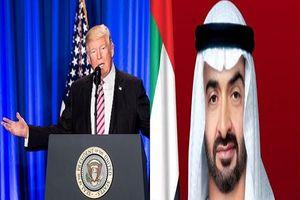 ولیعهد ابوظبی با وزیر دفاع آمریکا هم دیدار کرد