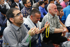 عکس/برگزاری مراسم دعای توسل در مسجد مقدس جمکران