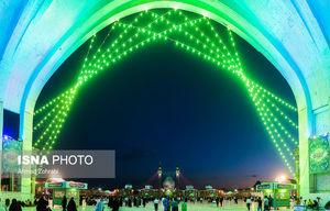 عکس/ حال و هوای مسجد جمکران در آستانه نیمه شعبان