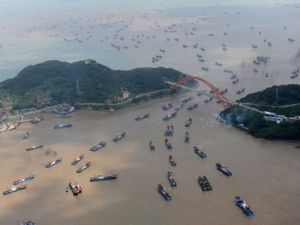 تصاویر زیبای هوایی از چین