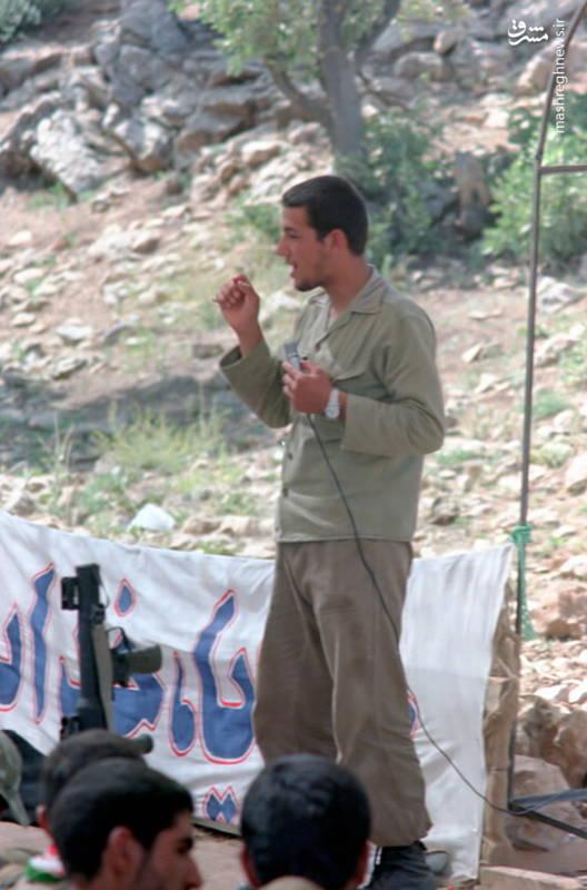 شهید «حاج حسین اسکندرلو» فرمانده گردان حضرت علی اصغر(علیه السلام)
