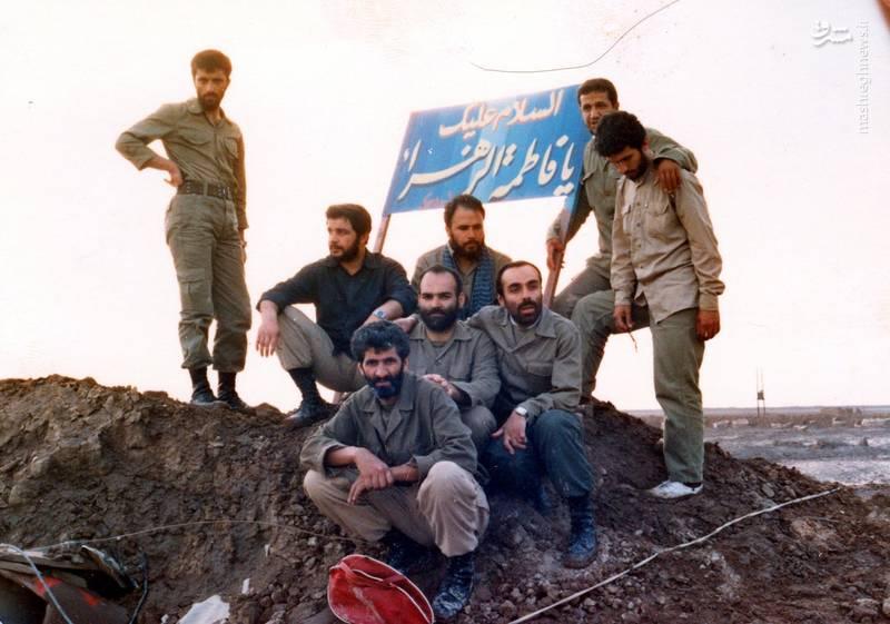 شهید «حاج حسین اسکندرلو» فرمانده گردان حضرت علی اصغر(علیه السلام) و همرزمانش در «فاو»