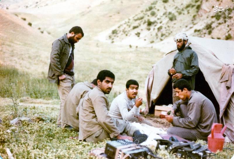 شهید «حسین اسکندرلو» فرمانده گردان حضرت علی اصغر(علیه السلام)