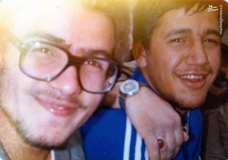شهید «حسین اسکندرلو»(نفر سمت راست)