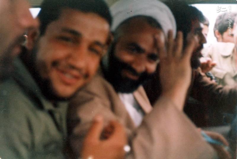 شهید «حاج حسین اسکندرلو» و حجت الاسلام «قرائتی»