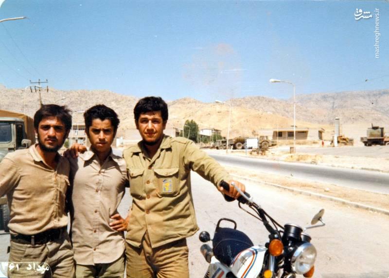 شهید «حاج حسین اسکندرلو» (نفر اول از ست)