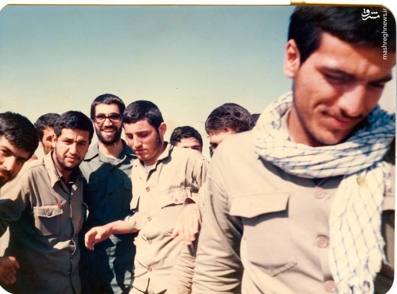 شهید «حاج حسین اسکندرلو» فرمانده گردان حضرت «علی اصغر(علیه السلام)»