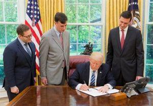 ترامپ فرمان اجرایی امنیت سایبری را امضا کرد
