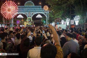 عکس/ شب نیمه شعبان در تهران