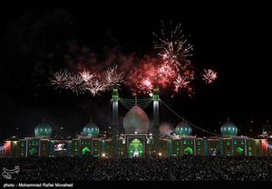 عکس/  مسجد جمکران در شب میلاد حضرت مهدی (عج)