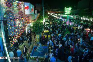 عکس/ جشن نیمه شعبان در تهران