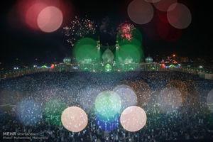 عکس/ جشن نیمه شعبان در مسجد مقدس جمکران(۲)