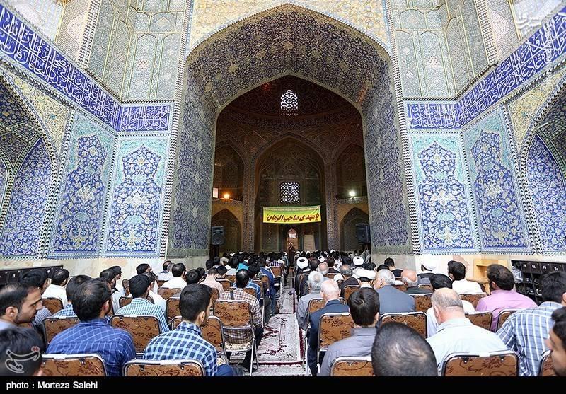 گردهمایی حامیان سید ابراهیم رئیسی در اصفهان