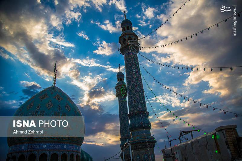 جشن نیمه شعبان در مسجد مقدس جمکران