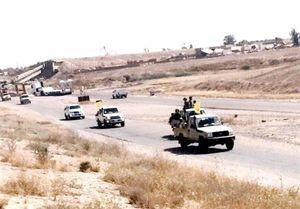 اعزام نیروهای ویژه نُجَباء برای آزادی مناطق مرزی عراق +عکس