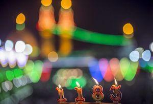 عکس/ روشن کردن 1183 شمع به مناسبت ولادت امام زمان(عج) در کربلا