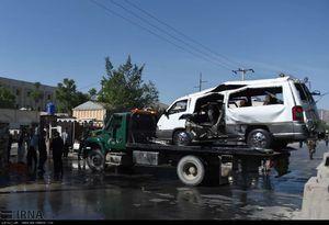 عکس/ انفجار بمب در کابل