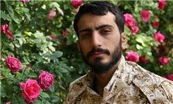 گریه شهید مدافع حرم در حرم حضرت رقیه +فیلم