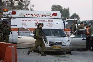 یک نظامی صهیونیست با خودرو کودک فلسطینی را زیر گرفت