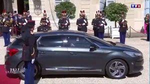 فیلم/ خداحافظی «اولاند» با کاخ الیزه پس از پنج سال