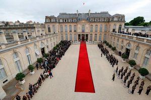 خداحافظی اولاند با کاخ الیزه