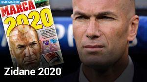 زیدان تا 2020 در رئال مادرید ماندنی شد