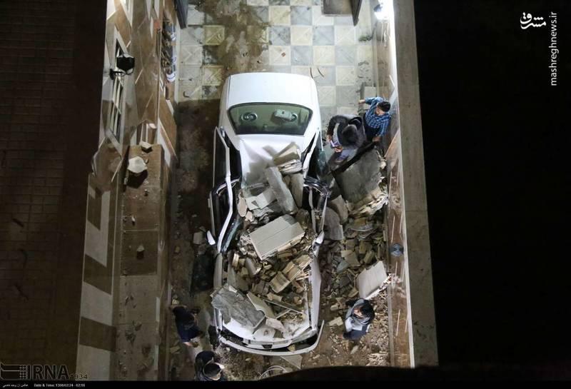خسارت زلزله 5/7 ریشتری در خراسان شمالی