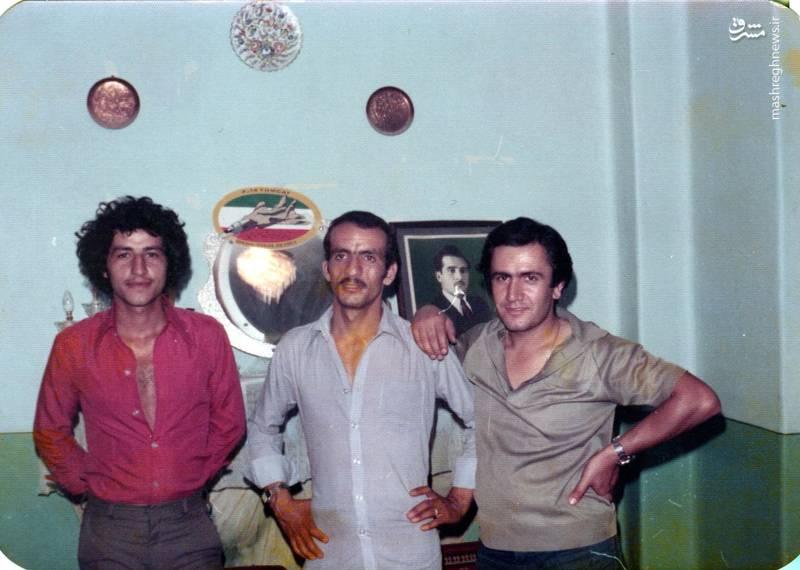 احمد بابایی(نف وسط)