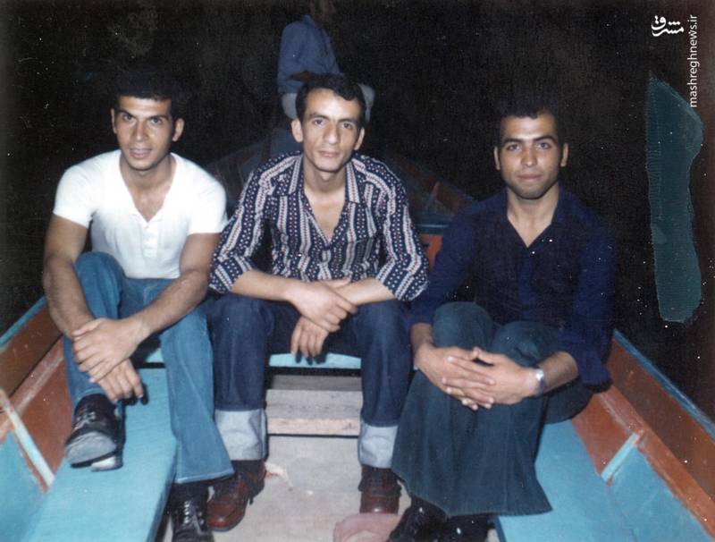 احمد بابایی (نفر وسط)