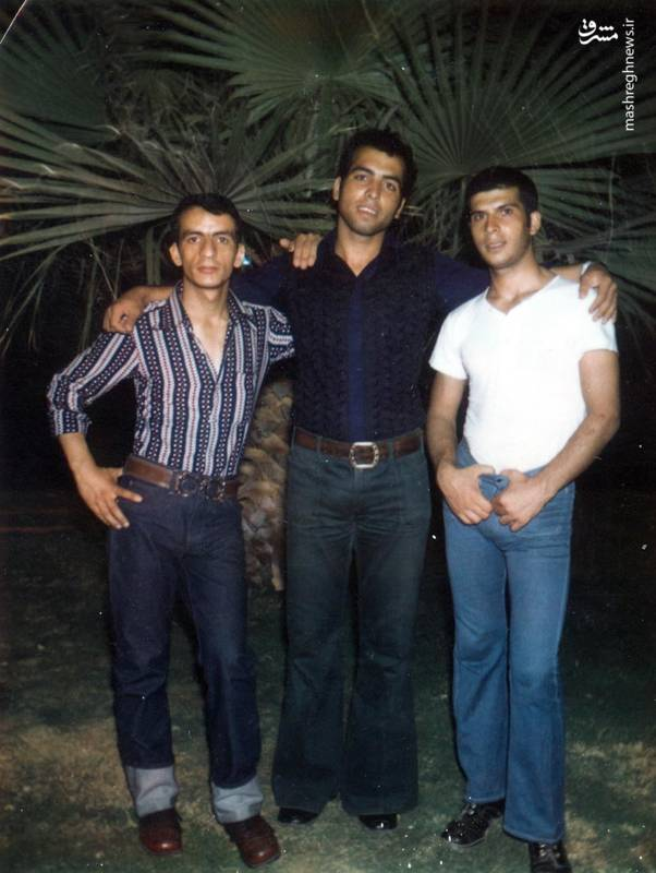 احمد بابایی (نفر اول از چپ)