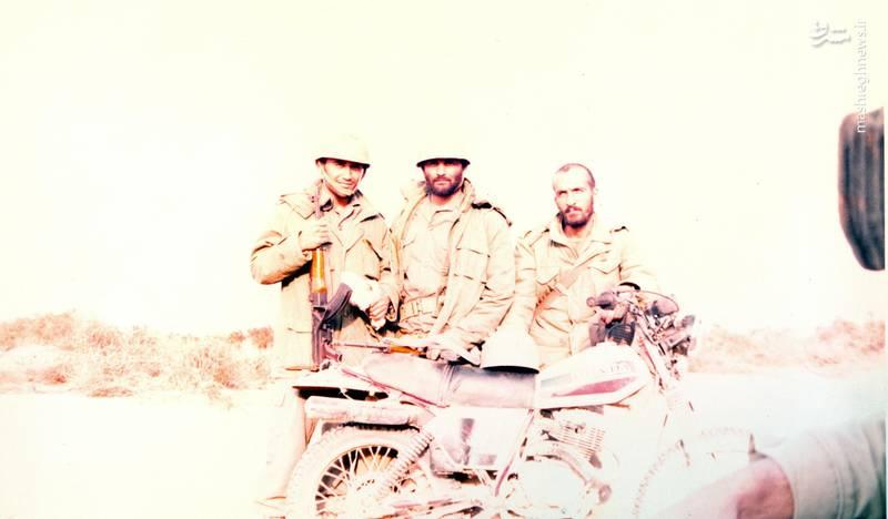 احمد بابایی(نفر اول از راست)