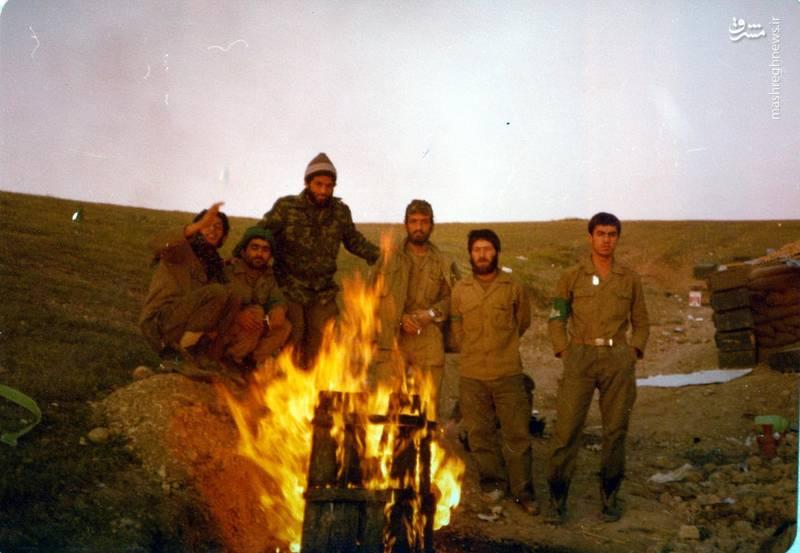 احمد بابایی(نفر سوم از راست)