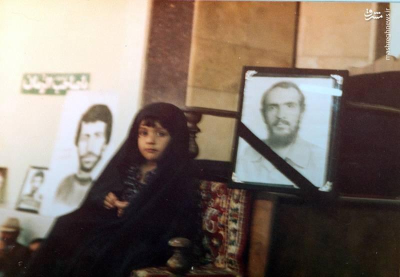 مریم، یادگار شهید «احمد بابایی»، فرمانده ی گردان «مالک اشتر نخعی» از «لشکر ۲۷ محمدرسول الله(صلوات الله علیه)»