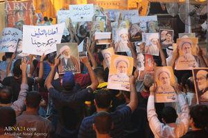 تجمع مردم بحرین در همبستگی با شیعیان عربستان